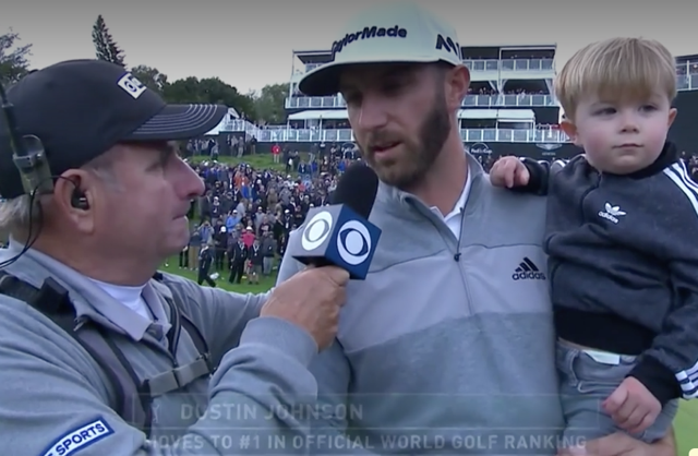 Dustin Johnson Son