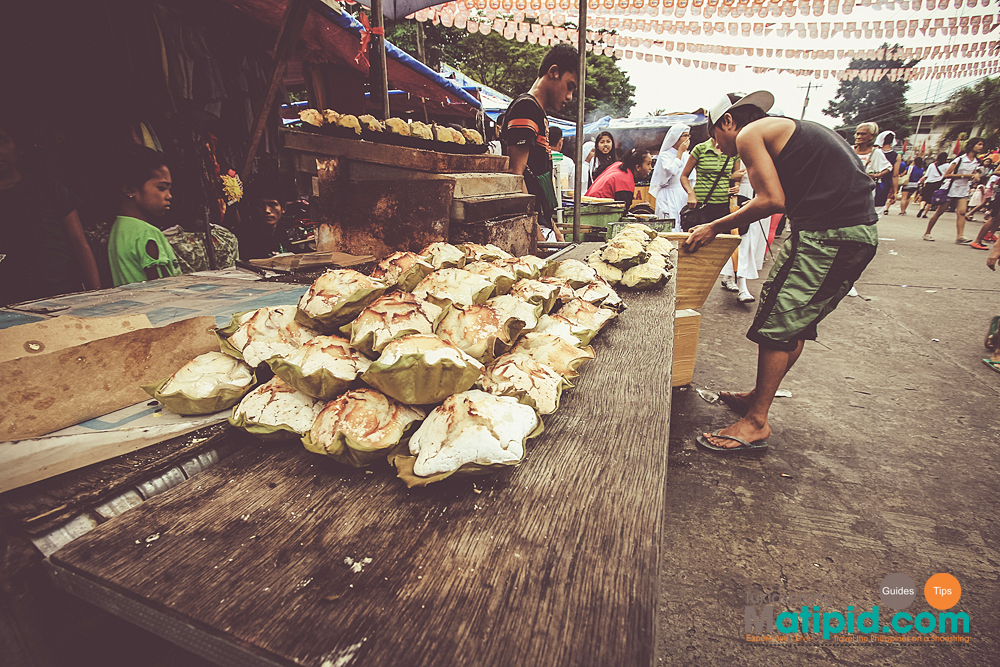 Bibingka seller infront of San Sebastian Church