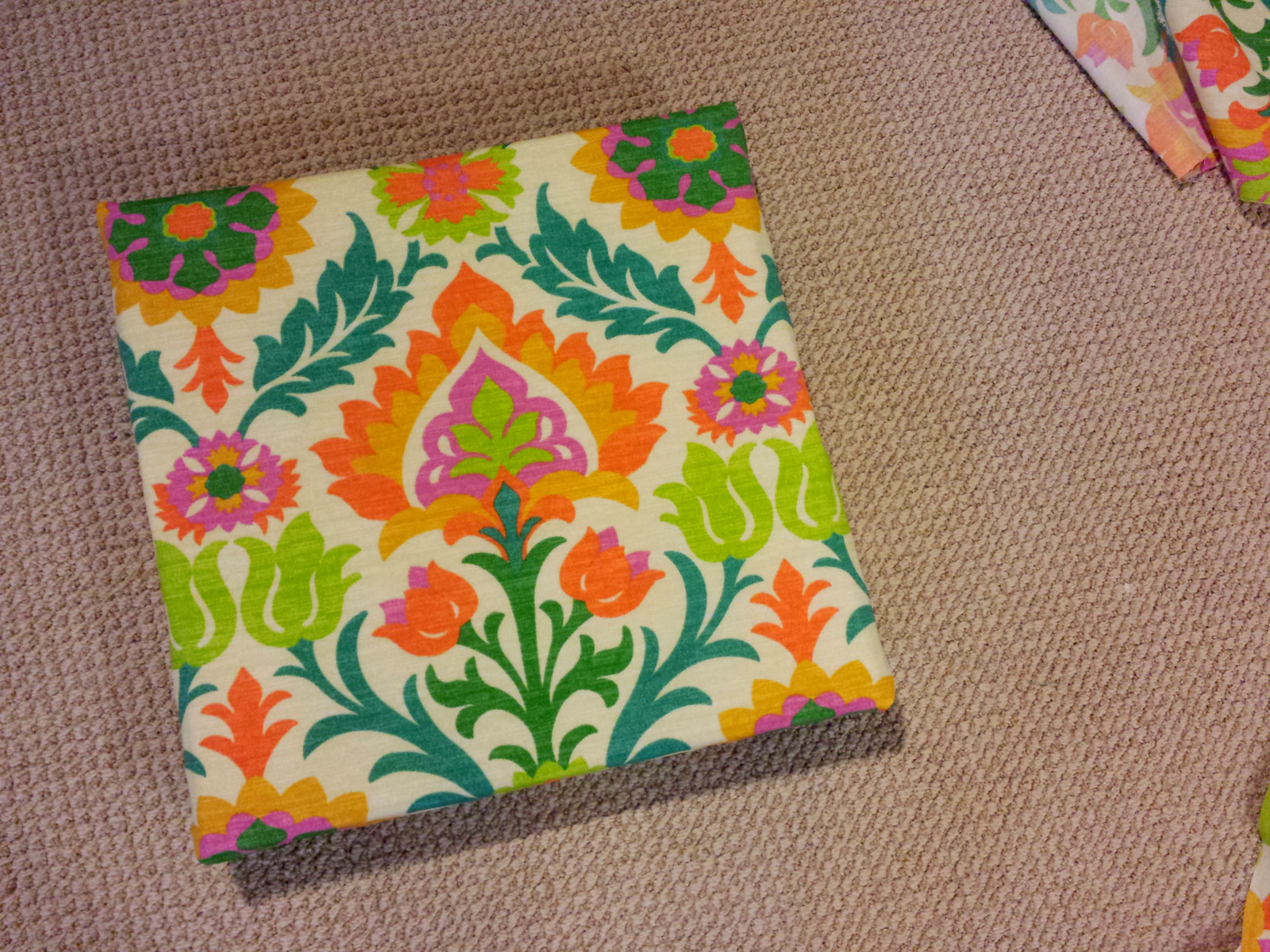 sewing patterns for patio chair cushions casters office chairs on hardwood floor diy no sew seat come along with chong cushion waverly santa maria mimosa fabric