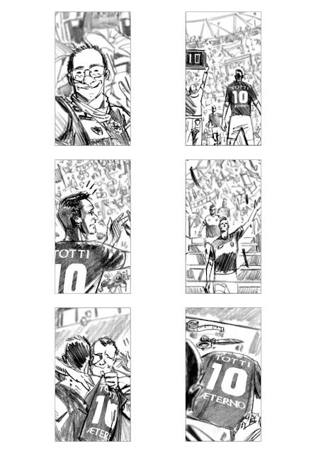 #Aeterno #Nike #Totti #ASRoma #shootingboard