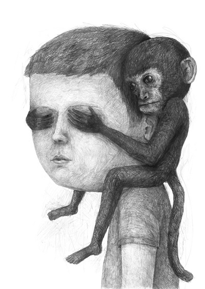 """Ape"" - Stefan Zsaitsits - 2014 