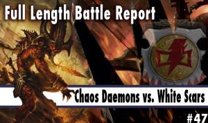 Community News: Chaos Daemons vs White Scars Batrep