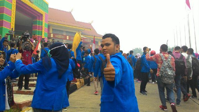 Prodem: Aksi Mahasiswa Riau Pemantik Gerakan Lebih Besar