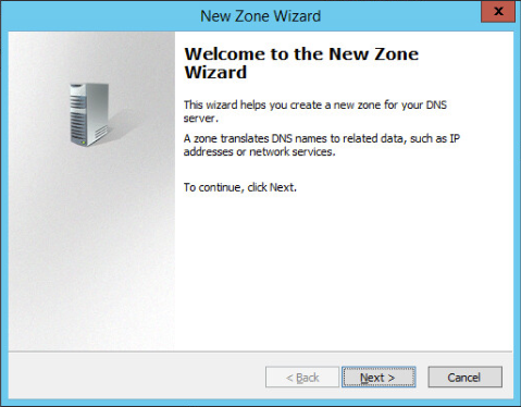 Figure 14: Step 14 of migrating a Linux BIND name server to a Windows Server DNS server.
