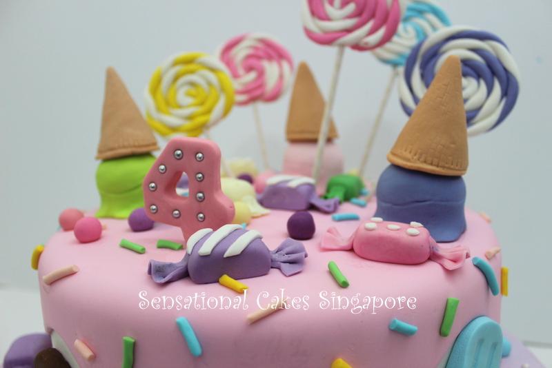 The Sensational Cakes 3d Ice Cream Crafted Cake Bespoke Cake