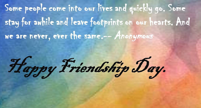 Friendship Day One Line Thoughts