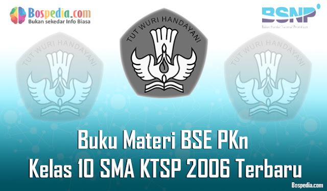 Buku Materi BSE PKn Kelas 10 SMA KTSP 2006 Terbaru