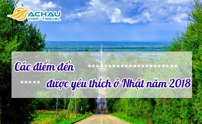 Diem den duoc yeu thich o Nhat nam 2018
