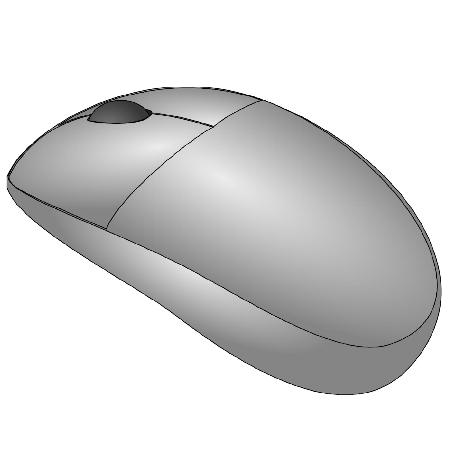 Картинка мышка компьютерная для детей