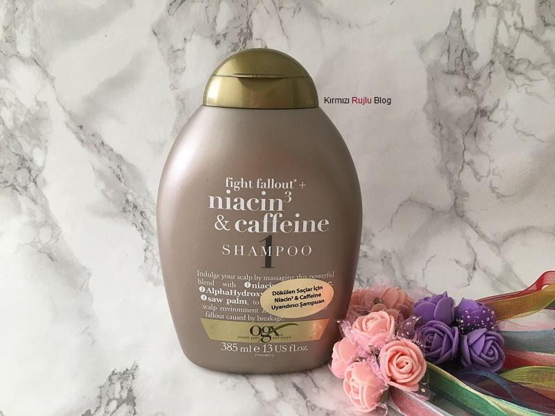 Organix Niacin Caffeine Şampuan