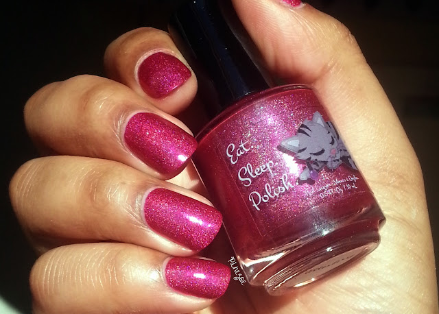 Eat Sleep Polish - Glitter Berry