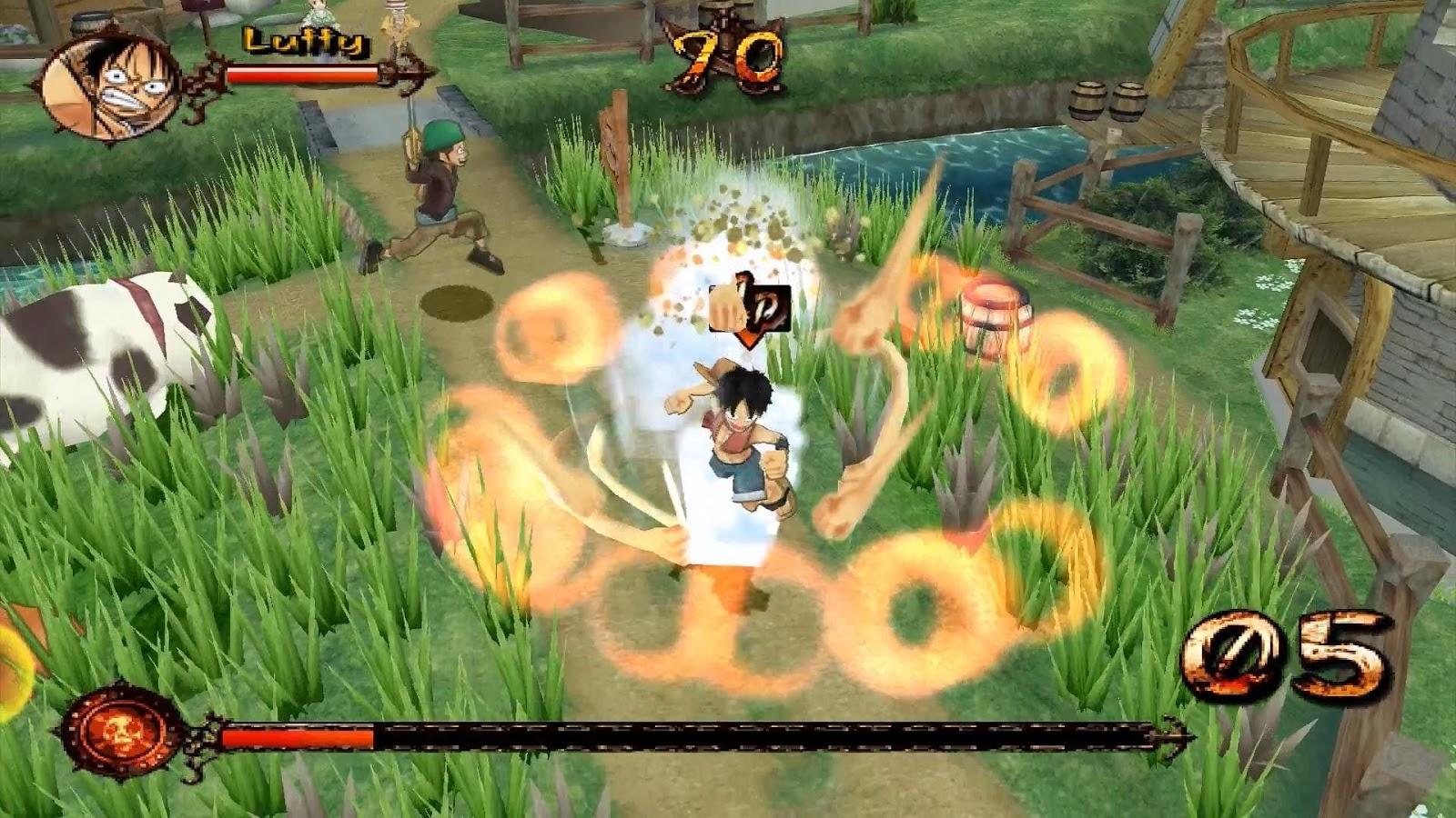 One Piece Grand Adventure PC Games No Emulator   Anime PC ...