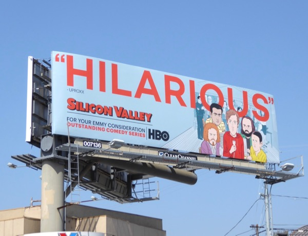 Silicon Valley season 4 Emmy nominations billboard