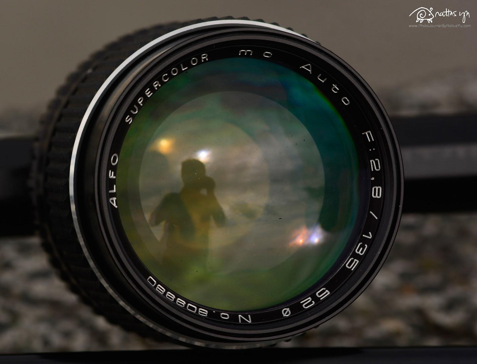 Super Alfo 135mm f/2.8 (P/K)