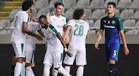 Τα στιγμιότυπα της φιλικής ήττας του Παναθηναϊκού στην Κύπρο από την Ομόνοια με 3-0