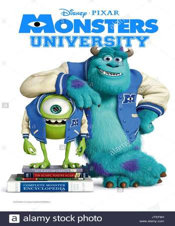 Poster Of Hollywood Film Watch Online Monsters University 2013 Full Movie Download Free Watch Online 300MB