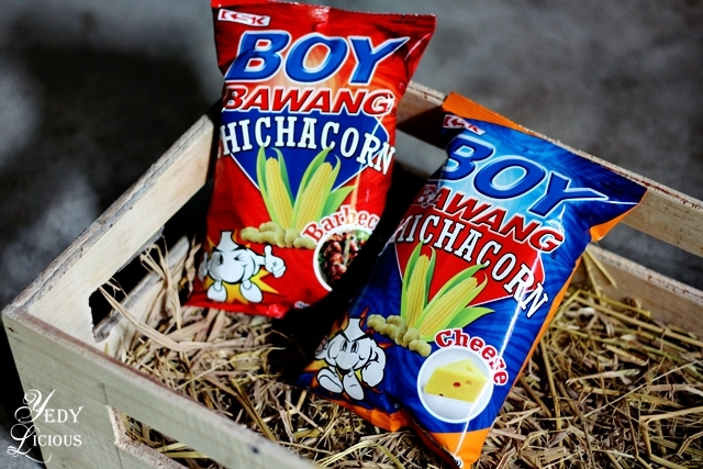Boy Bawang Chichacorn Boy Bawang New Products, Boy Bawang Best Local Snacks in the Philippines, Boy Bawang KSK Food Products Blog Review YedyLicious Manila Food Blog Yedy Calaguas