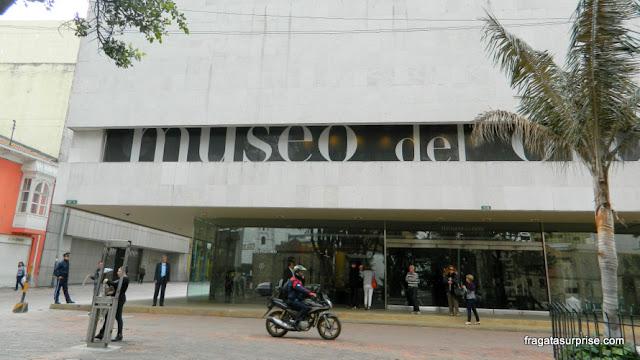 Fachada do Museu do Ouro de Bogotá