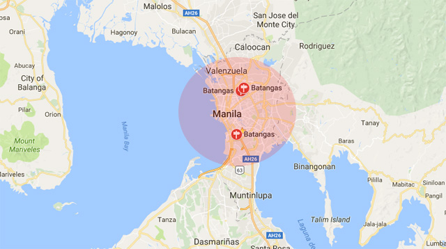 Earthquake Hits Areas in Luzon