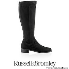 Kate Middleton wore Russell Bromley Suede Charge Boots