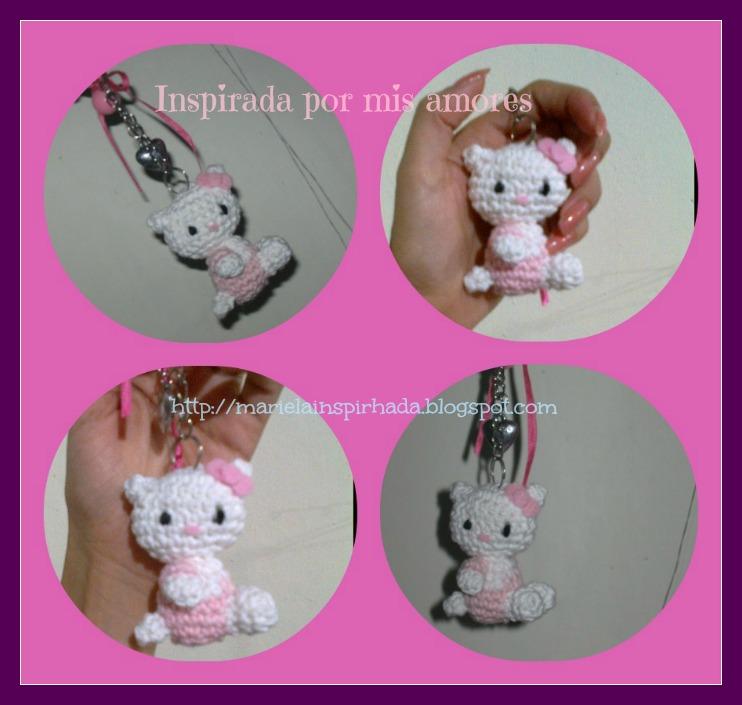 Hello Kitty Amigurumi | Amigurumi hecho sin patrón, de Hello… | Flickr | 705x742