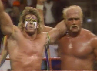 WWF (WWE) SURVIVOR SERIES - 1990 - Hogan and Warrior