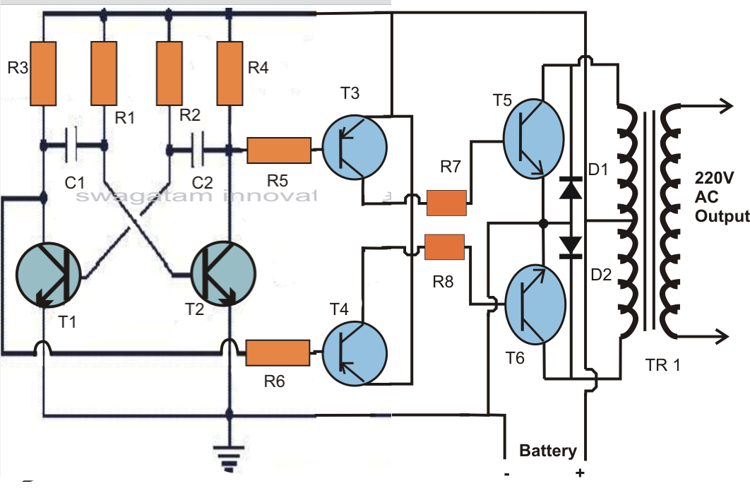 3 Ic Cfl Inverter Circuit Circuit Diagram Images