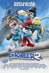 Şirinler 2: The Smurfs 2 (2013) Mkv Film indir
