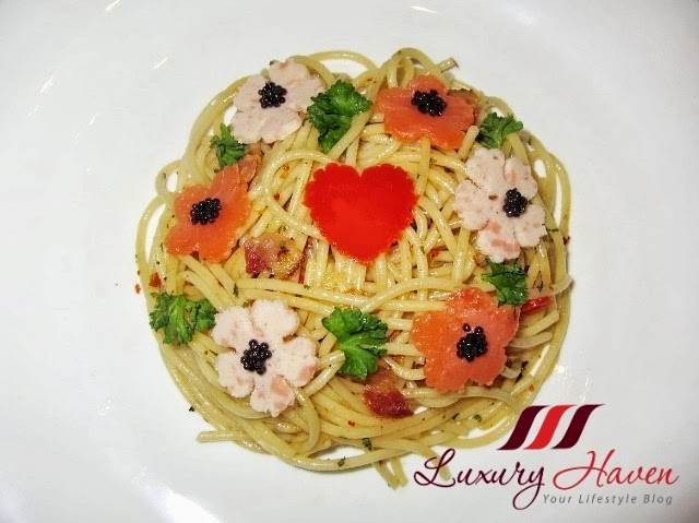 pretty valentines day aglio lio recipe