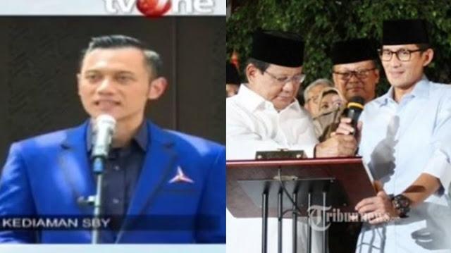Ini Alasan Demokrat Akhirnya Dukung Prabowo-Sandiaga