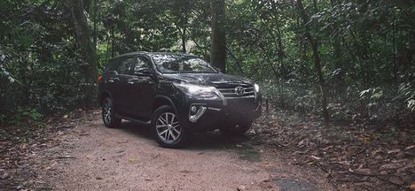 Toyota All-new Fortuner Indonesia Review