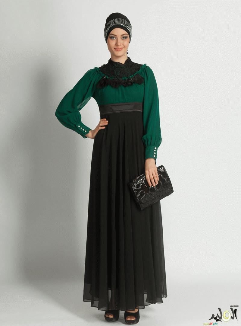 f246341da ازياء ملابس وفساتين تركية , فساتين تركية للمحجبات , كولكشن ملابس وفساتين  وعبايات تركية وسورية