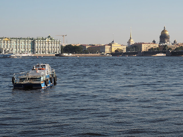 Санкт-Петербург, Нева (St. Petersburg, Neva river)