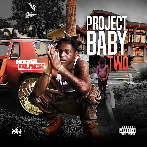 Kodak Black - Project Baby 2  Cover