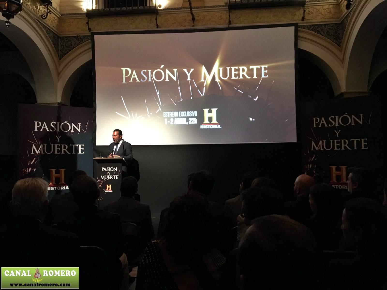 Canal Romero Presente En El Preestreno De Pasion Y Muerte En