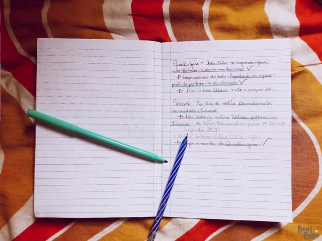 Dicas de organização e estudos | FACULDADE