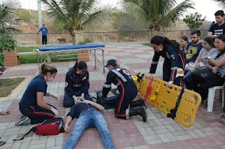 Estudantes de Enfermagem realizam 1ª Simulação Realística em Cuidados Críticos do CES/UFCG, em Cuité
