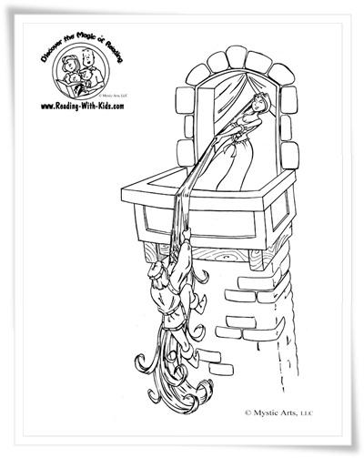 Ausmalbilder Zum Ausdrucken Ausmalbilder Rapunzel