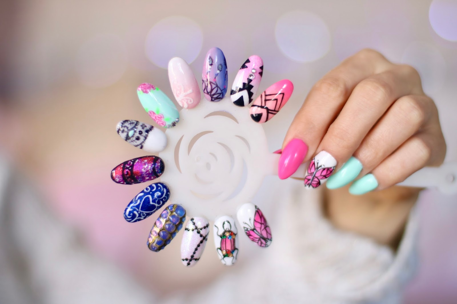 Mix Salonowych Zdobień - Wzorniczek Miracle Nails