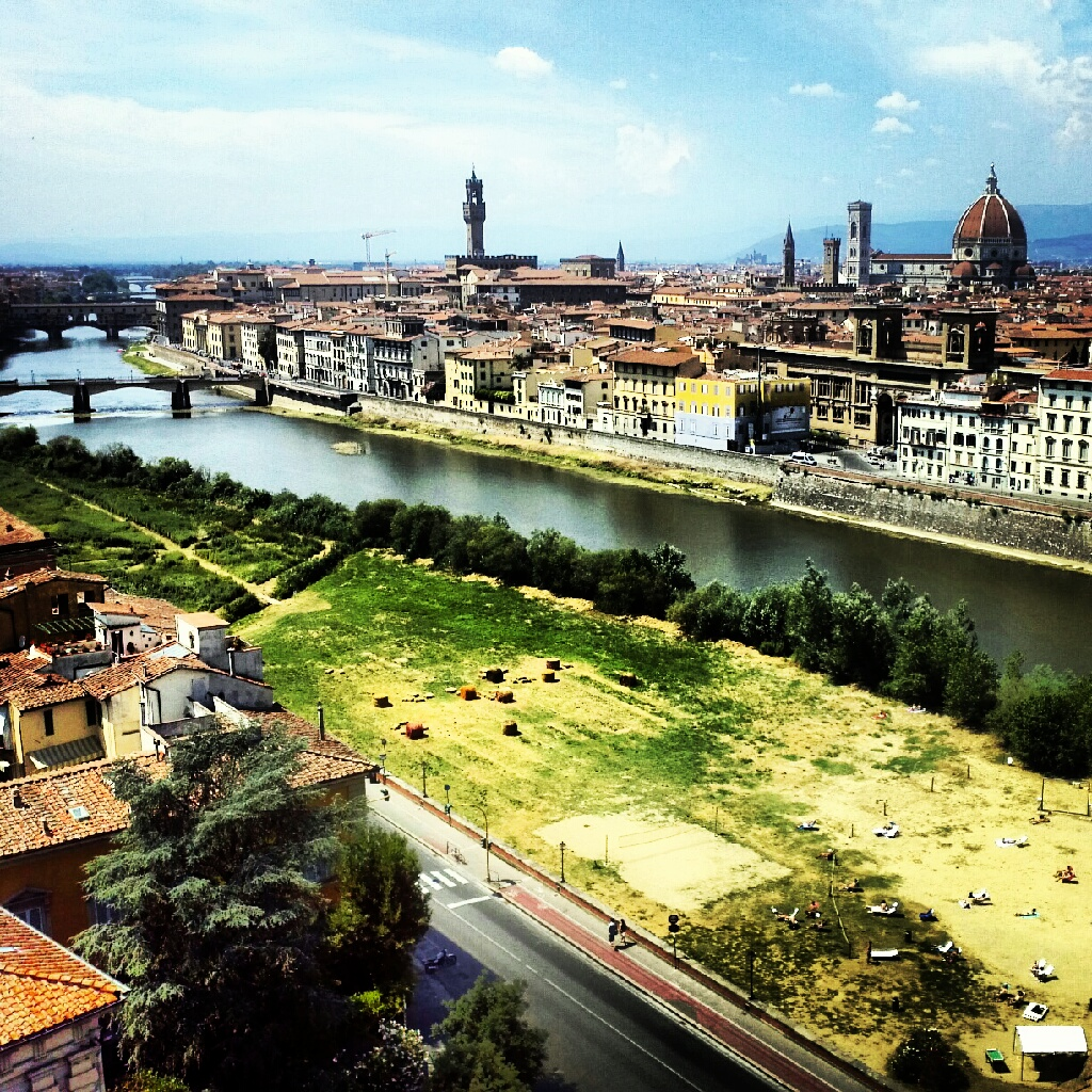 Florence Tag A Beach In The Center Of Florence