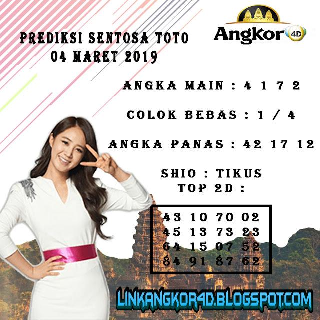 PREDIKSI SENTOSA TOTO 04 MARET 2019