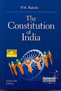 pm bakshi constitution of india latest edition pdf free download