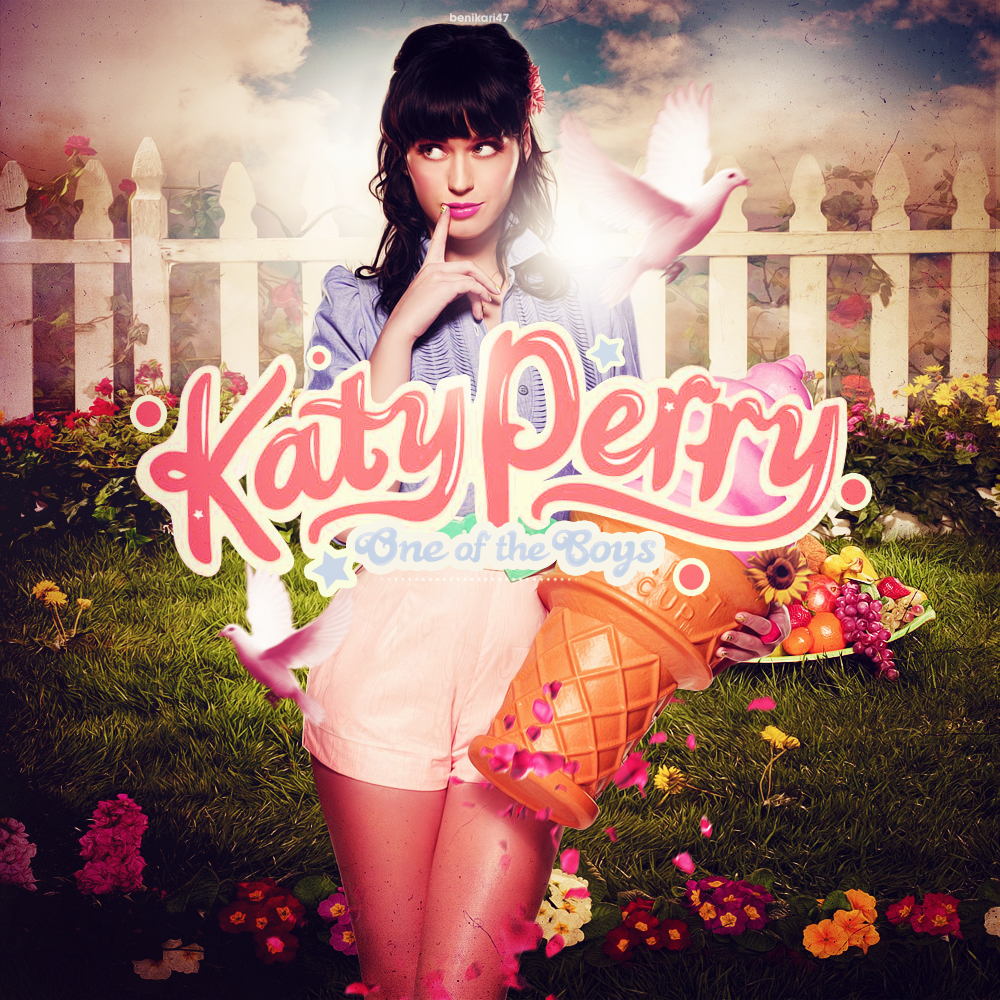Katy Perry One Of The Boys Album Cover Katy perry - one of the boysKaty Perry One Of The Boys Poster