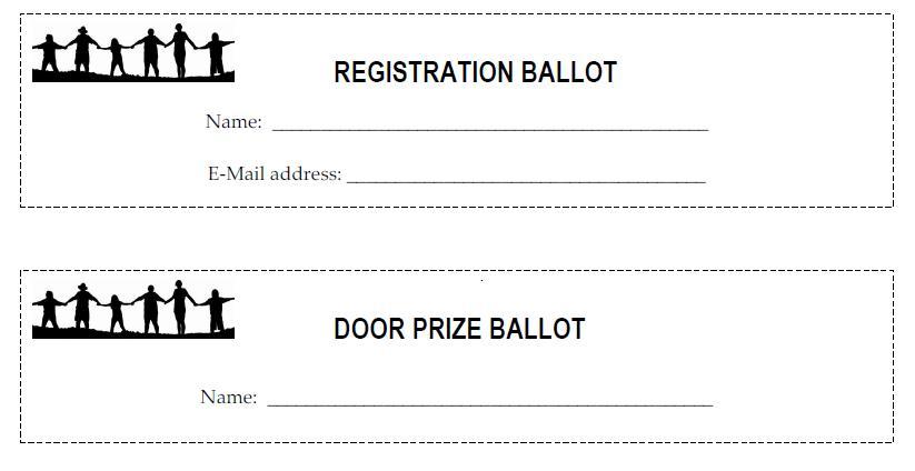 raffle draw ticket template