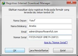 kumpulan serial number idm 6.21