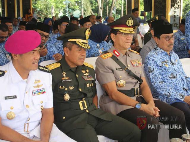 Said Assagaff Pimpin Upacara HUT Korpri ke-47 di Maluku