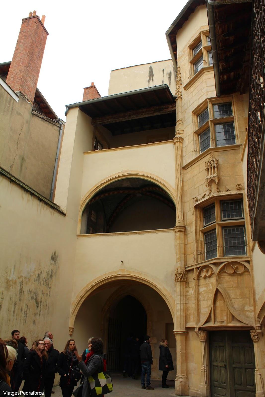 Traboule Vieux Lyon, Lió, Rhône-Alpes, França, France, Unesco World Heritatge, Patrimoni de la Humanitat