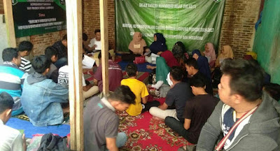 Sejumlah Anggota Nilai RAK ke-XVI HMI Cabang Bandarlampung Komisariat Dakwah UIN Raden Intan Lampung Cacat