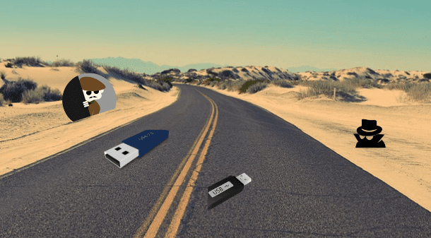 lost usb flash drives