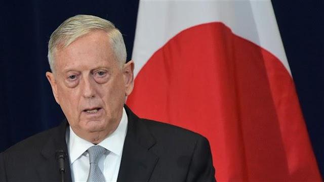 US Defense Secretary James Mattis to visit Jordan, Turkey, Ukraine to discuss military ties